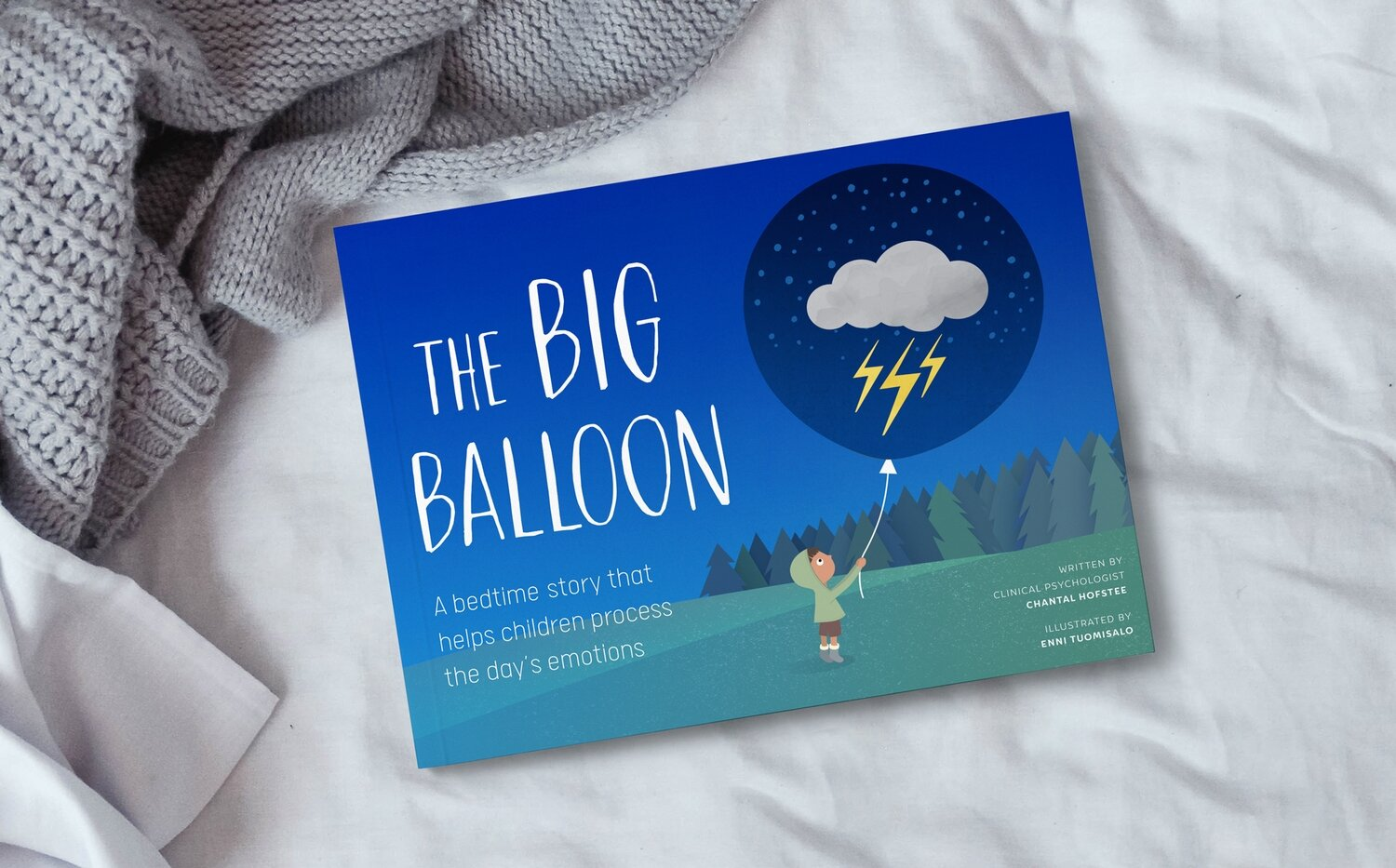 Book - THE BIG BALLOON: A story that helps children process they day's emotions