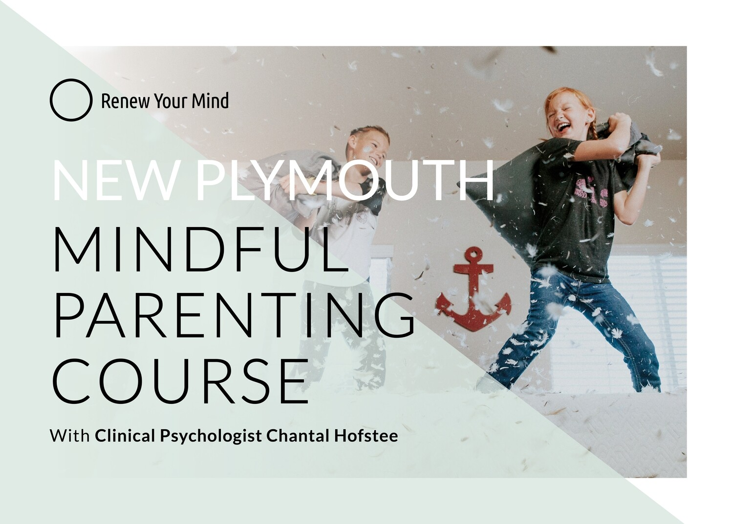 Oakura Mindful Parenting course: 6 session course, starting Wednesday 18 Aug '21