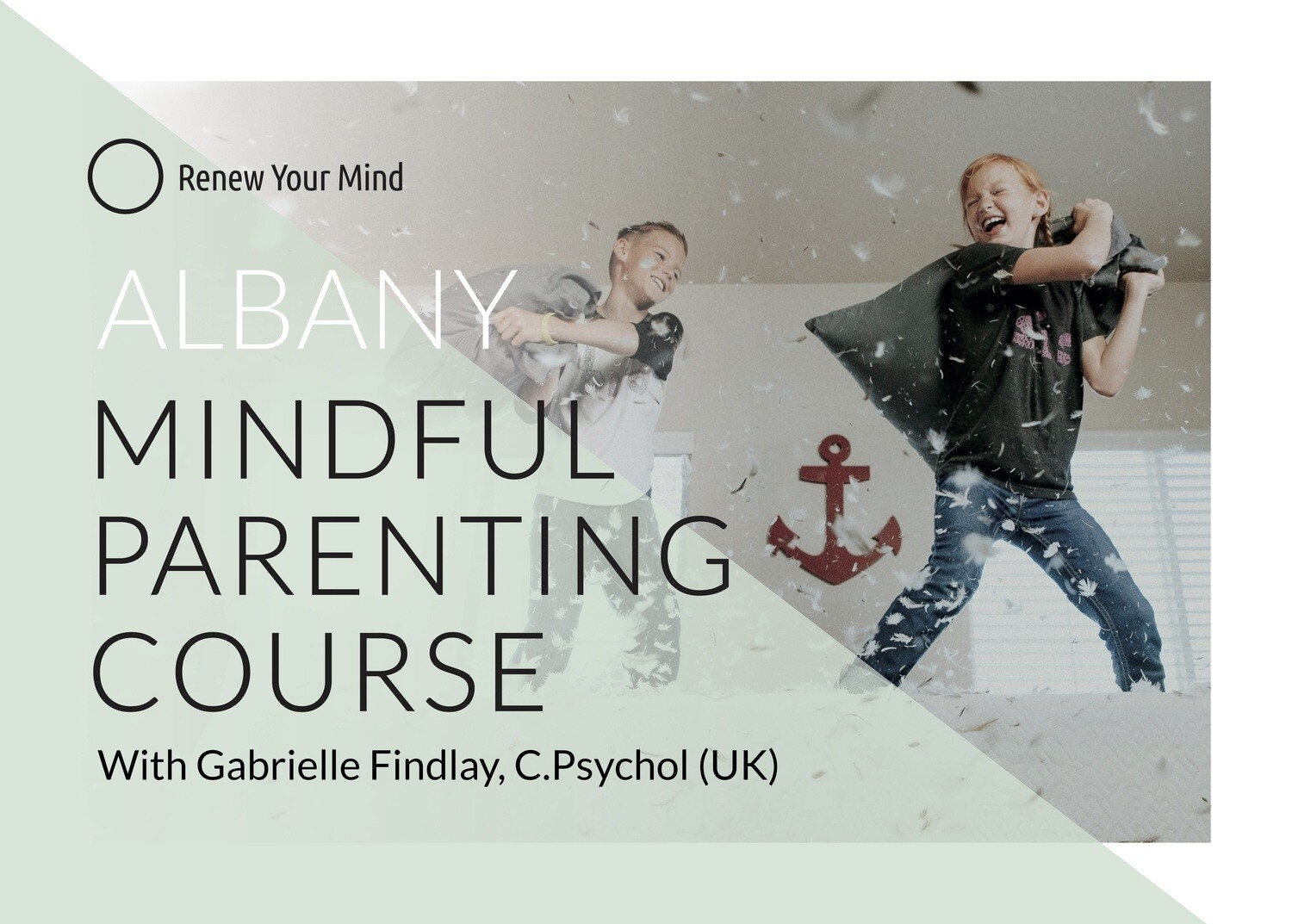 Albany Mindful Parenting course: 6 session course starting 13 May '21