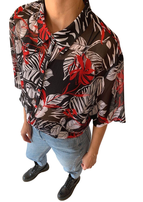 Crveno-crna košulja