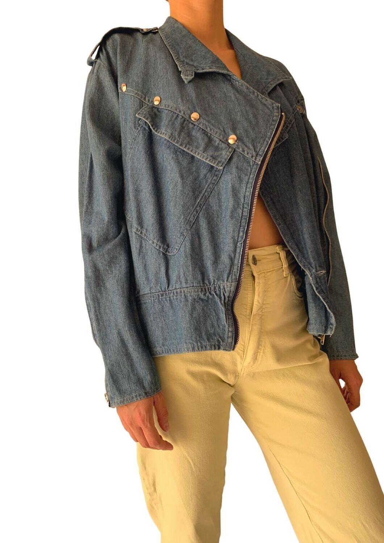 80s teksas jakna