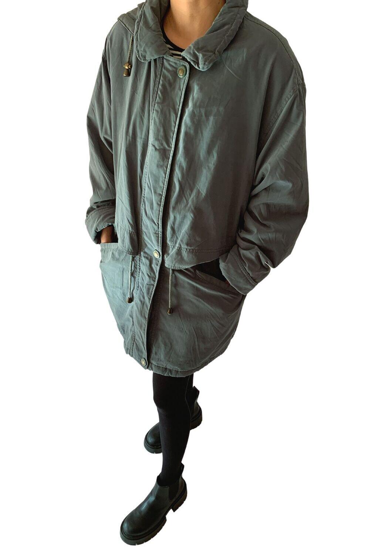 Sivo-zelena jakna