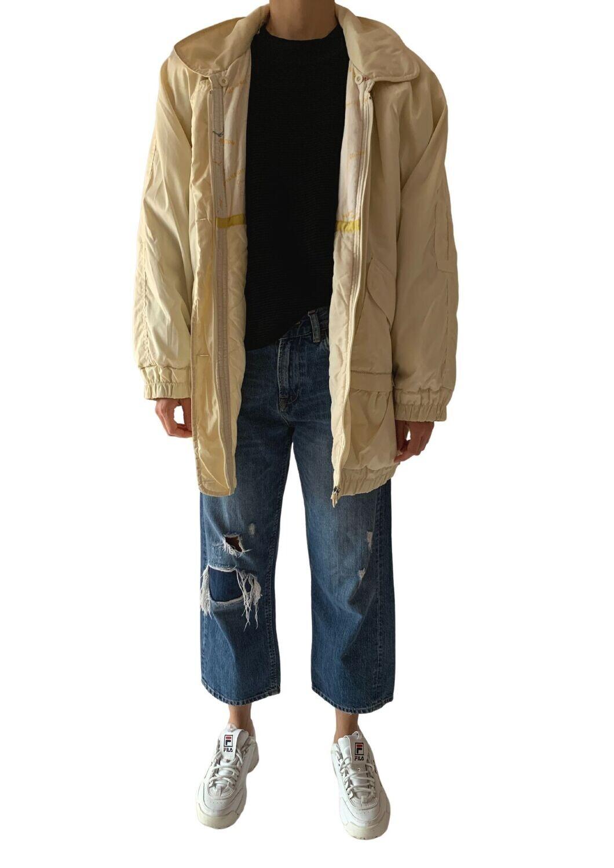 Prljavo bijela jakna