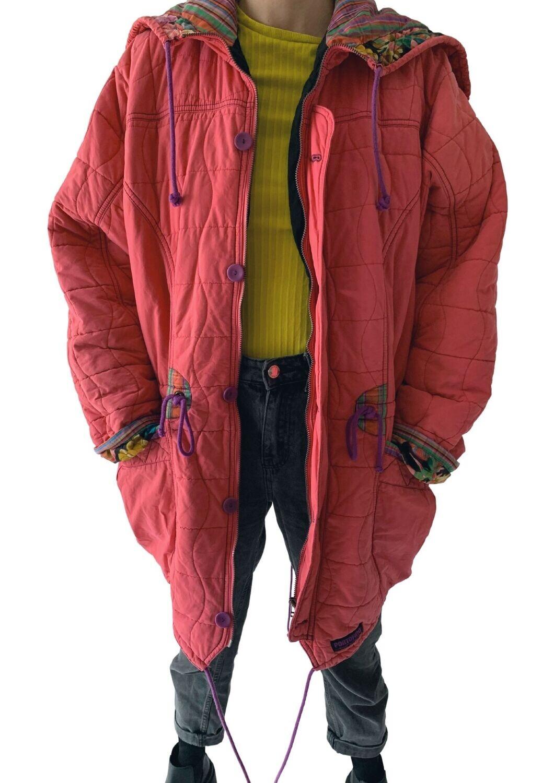Pink cvjetna jakna