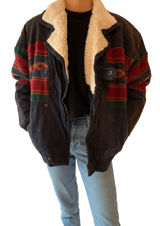 Unisex jakna s umjetnim krznom