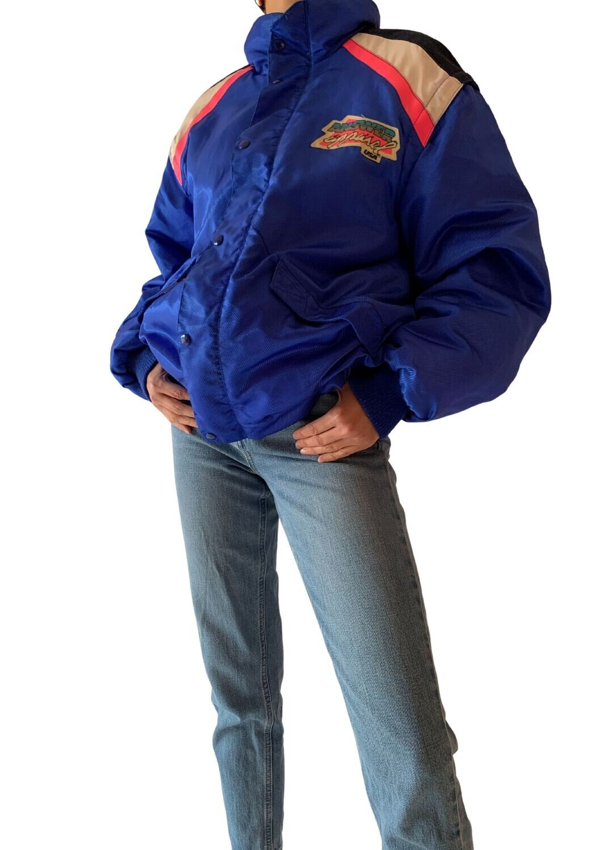 Plava unisex jakna