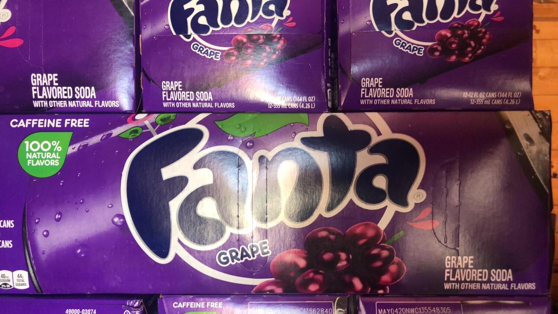 Fanta Grape ( USA Product )