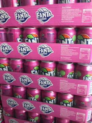 Fanta Lychee ( USA Product )