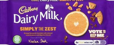 Dairy Milk Orange Zest 120g
