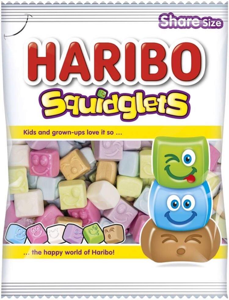 Haribo Squidglets