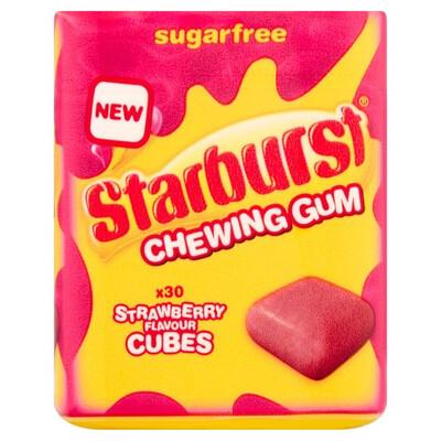 Starburst Strawberry Chewing Gum Pots