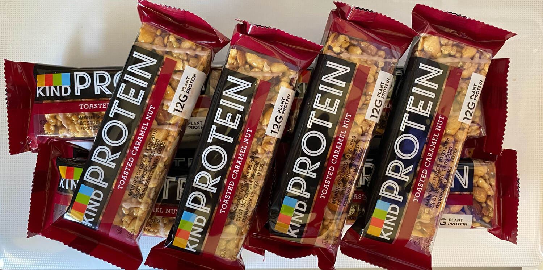 Kind Protien Bars X 12 ( Toasted Caramel Nut )