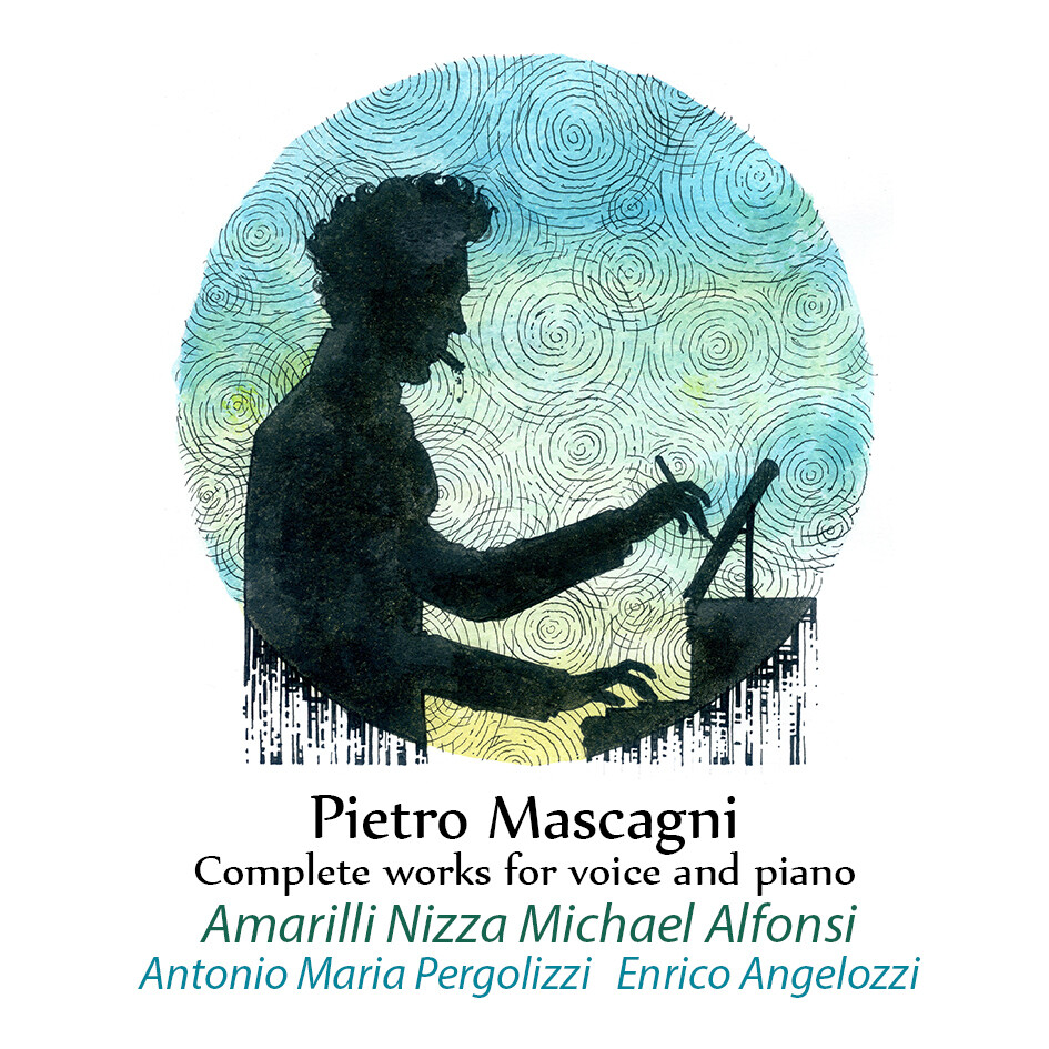 CD Pietro Mascagni complete works for voice and piano  Amarilli Nizza, Michael Alfonsi