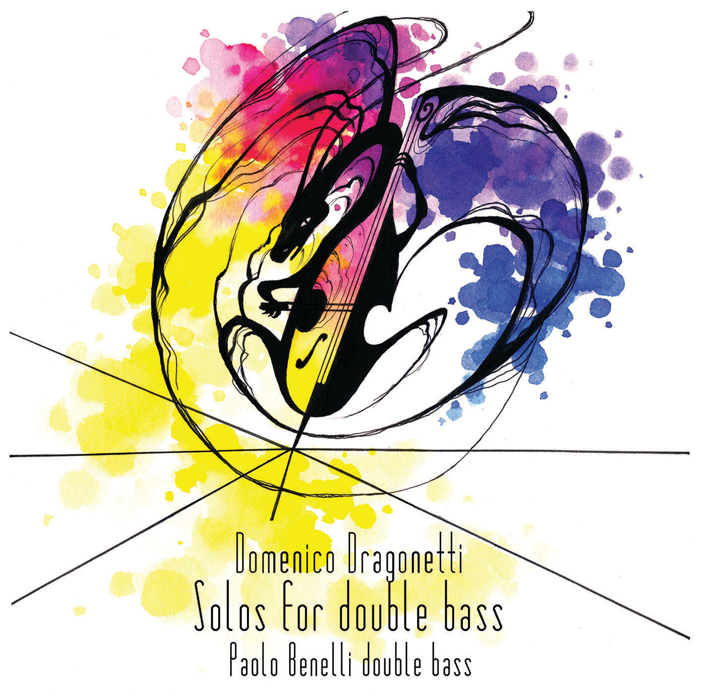 MP3 Domenico Dragonetti, Solos for double bass - Paolo Benelli