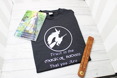 Trust in the Magical Badass you Are Cotton T-Shirt