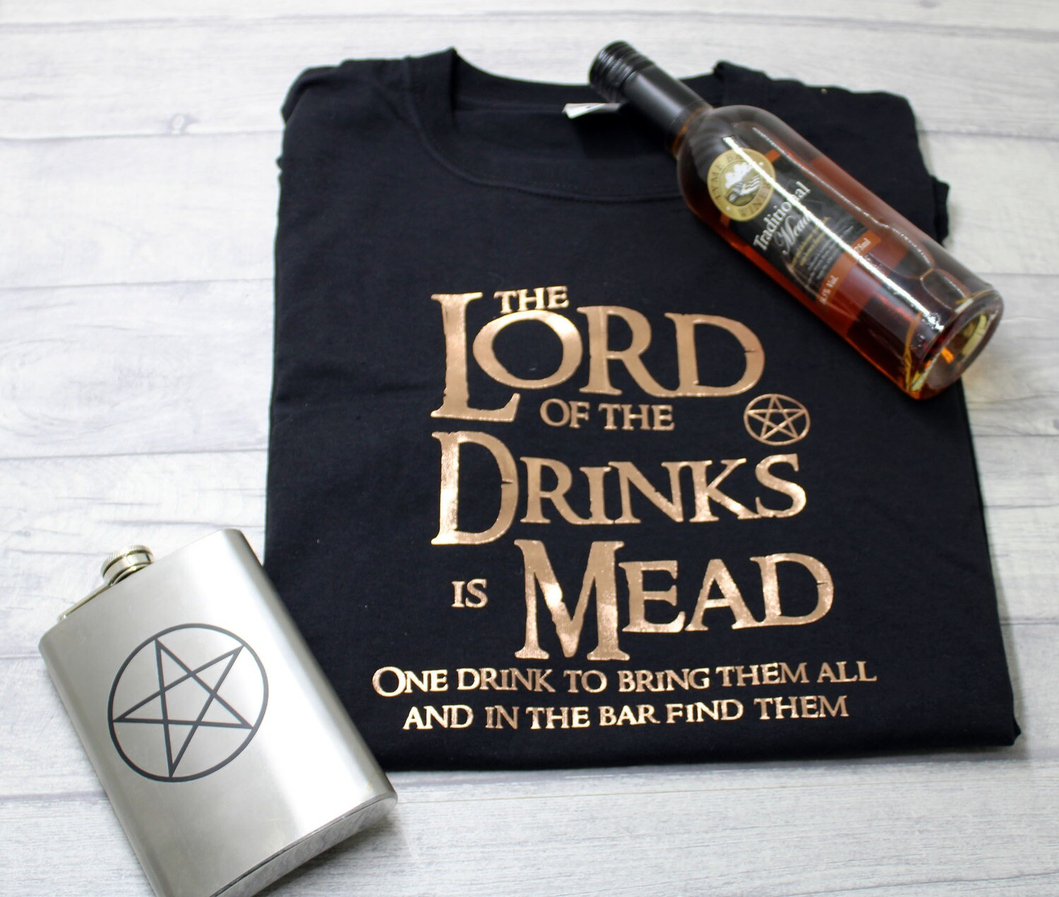 Lord of the Drinks is Mead Cotton T-Shirt