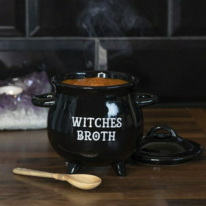 Witches Broth Cauldron with Spoon