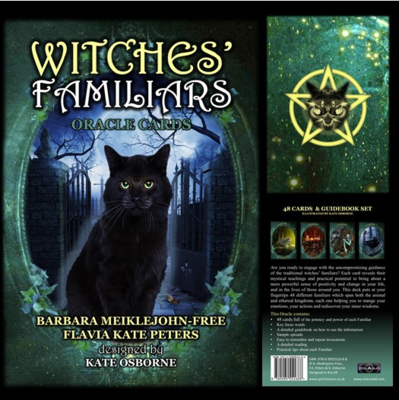 Witches Familiar Oracle Deck
