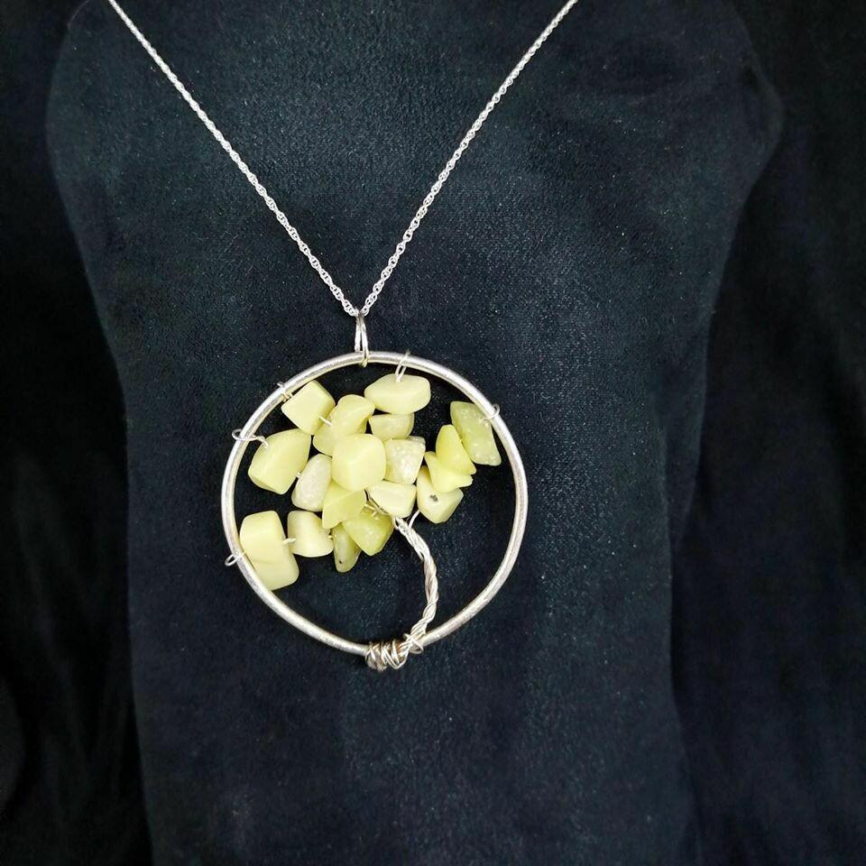 Tree of Life New Jade Pendant