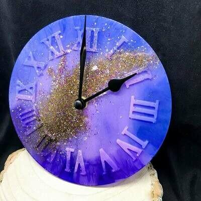 Cosmic Resin Clock