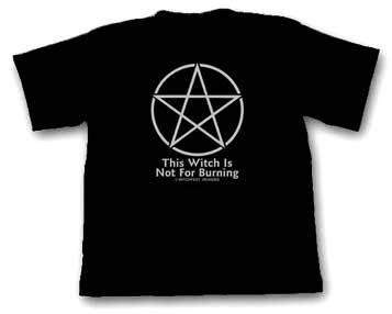 Pentacle T-Shirt/ Slogan Cotton T-Shirt