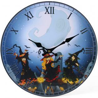 Witches  Clock