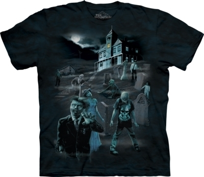 Zombies & Ghosts (GLOW) T-Shirt