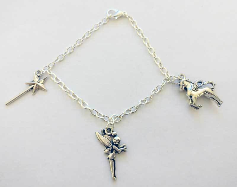 Enchanted Chain Charm Bracelet