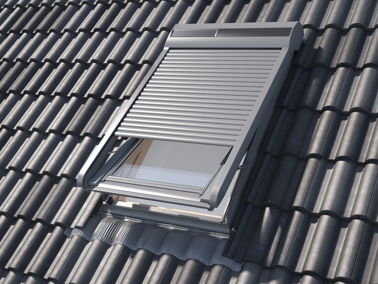 SSR Solar Roller Shutter
