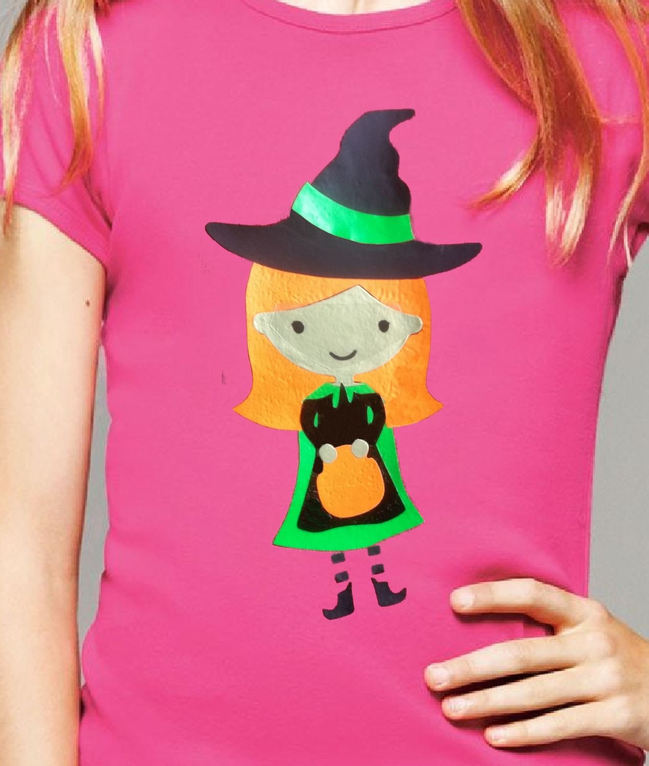 Halloween Witch  layered file