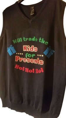Vinyl HTV Trade Kids For Presents Christmas Layered Cutting File