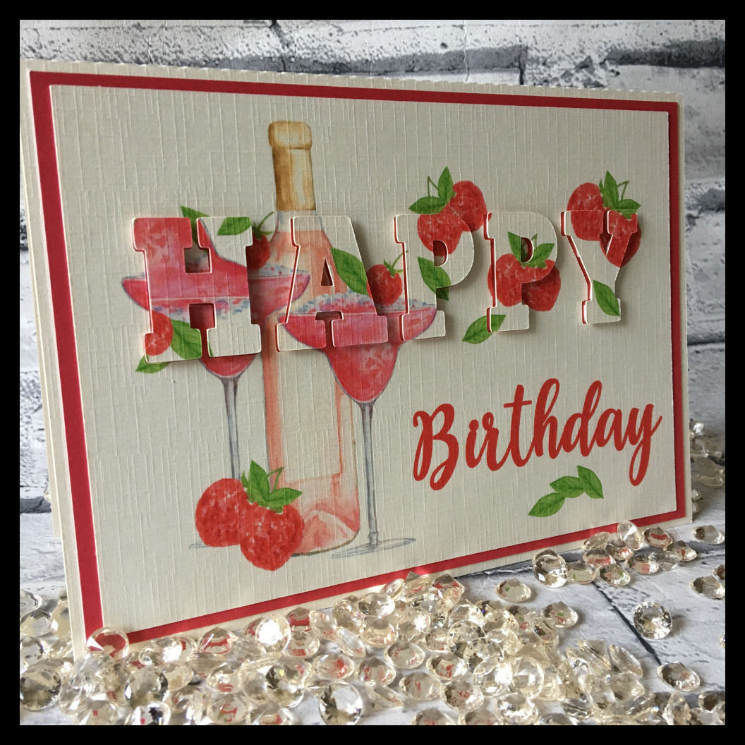 3d eclipse card - HAPPY BIRTHDAY  all formats