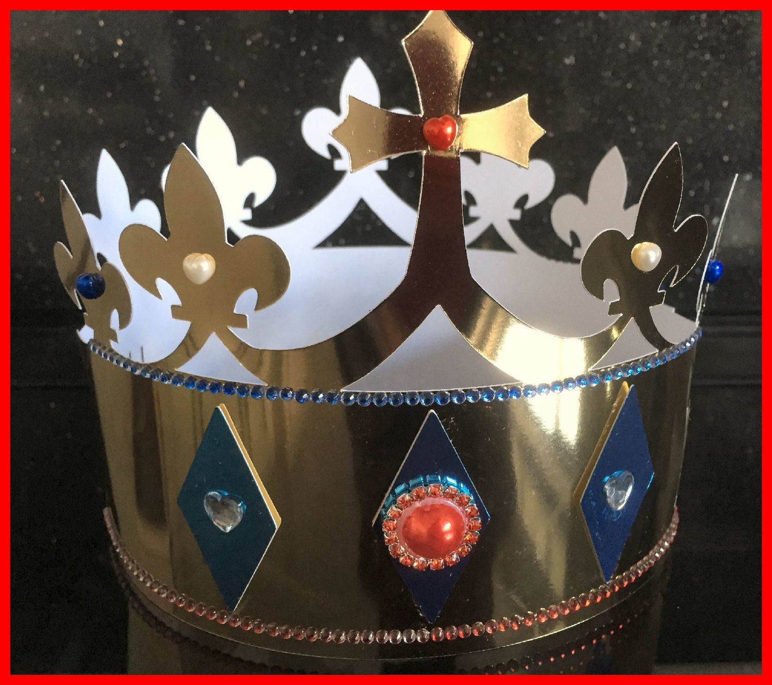 Crown for boys   - royal, party, jubilee, birthday, king