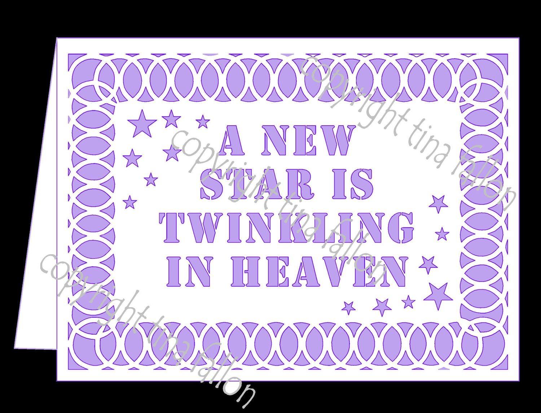A New Star Is Twinkling In Heaven