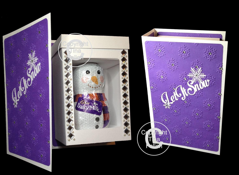 Box In a Book Folder Chocolate Gift Box 165mm x 110mm x 73mm