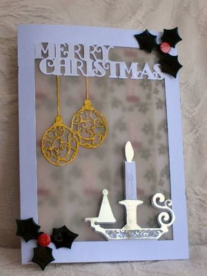 Card Template  Candlestick