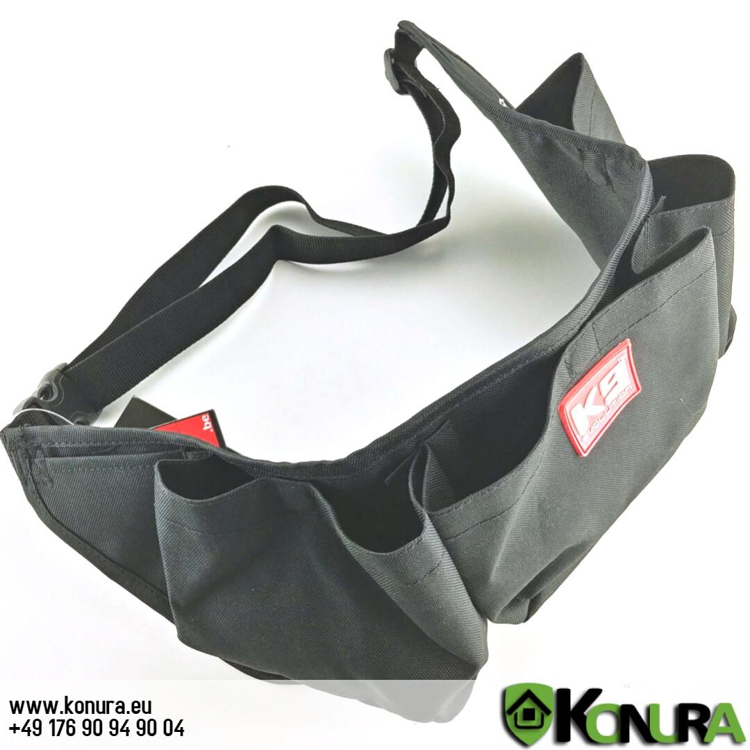 Futtertasche Multi mit Taschen für Magnete K9K4