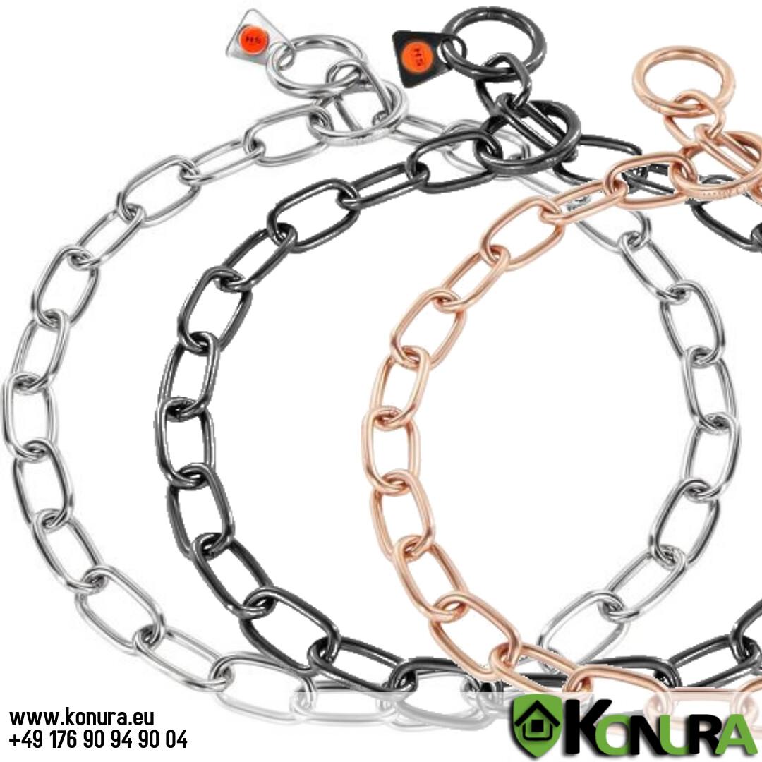 Halskette 3 mm mit einer Gliederlänge von 2,5 cm Sprenger