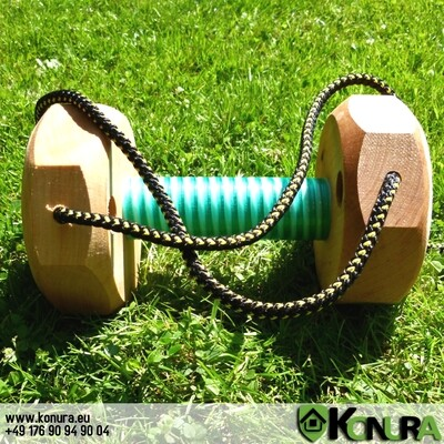 Trainings-Apportierhölzer mit Kordel Klin Kassel