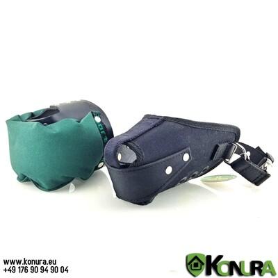 Намордник с каркасом для атаки и специальной подушкой Klin Kassel