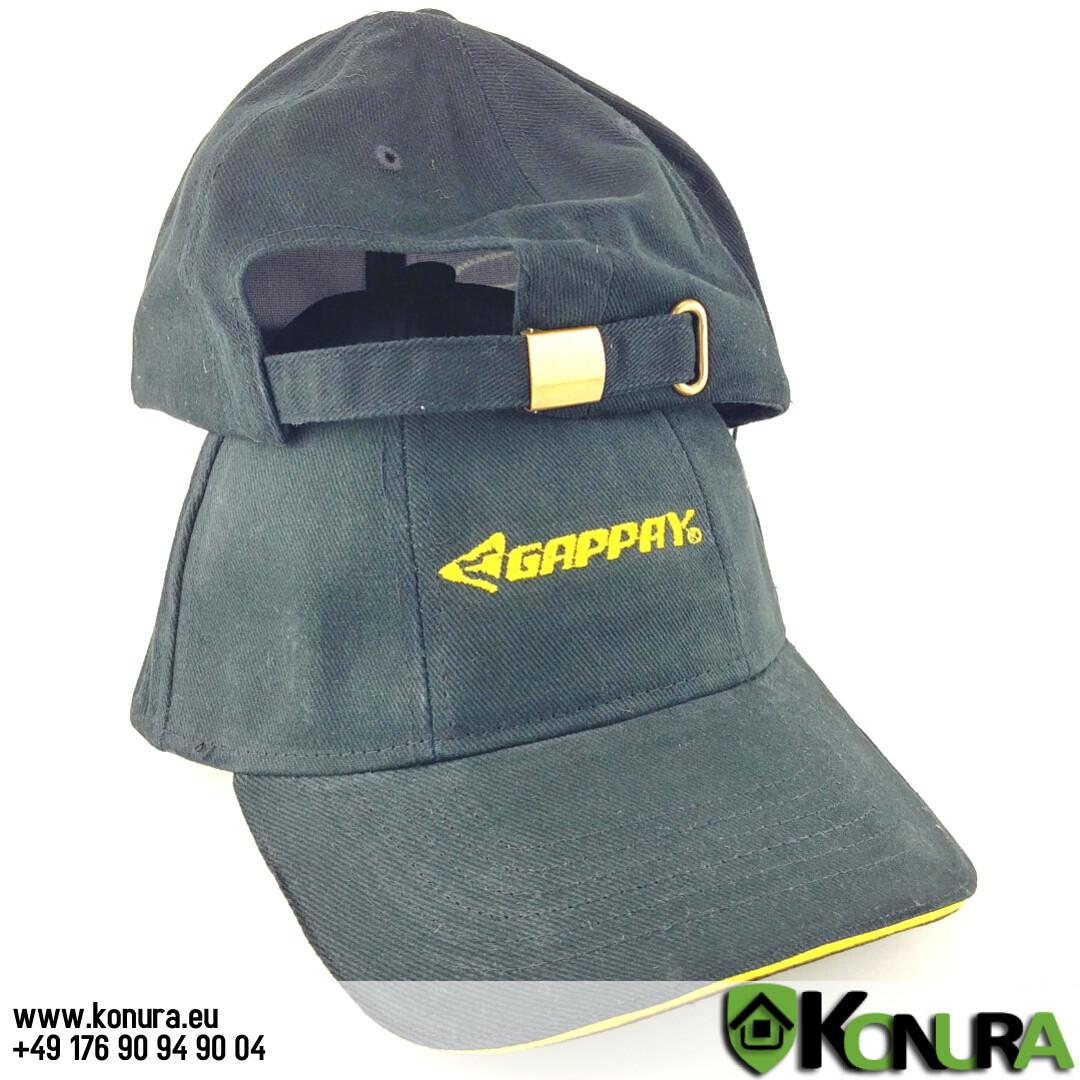 Schwarze Mütze mit Logo Gappay