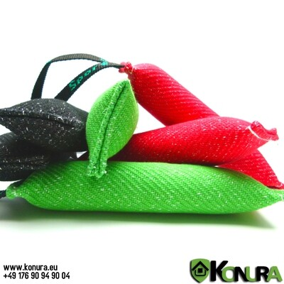 Beißwülste aus Baumwoll-Synthetik mit 1 Handschlaufe Klin Kassel