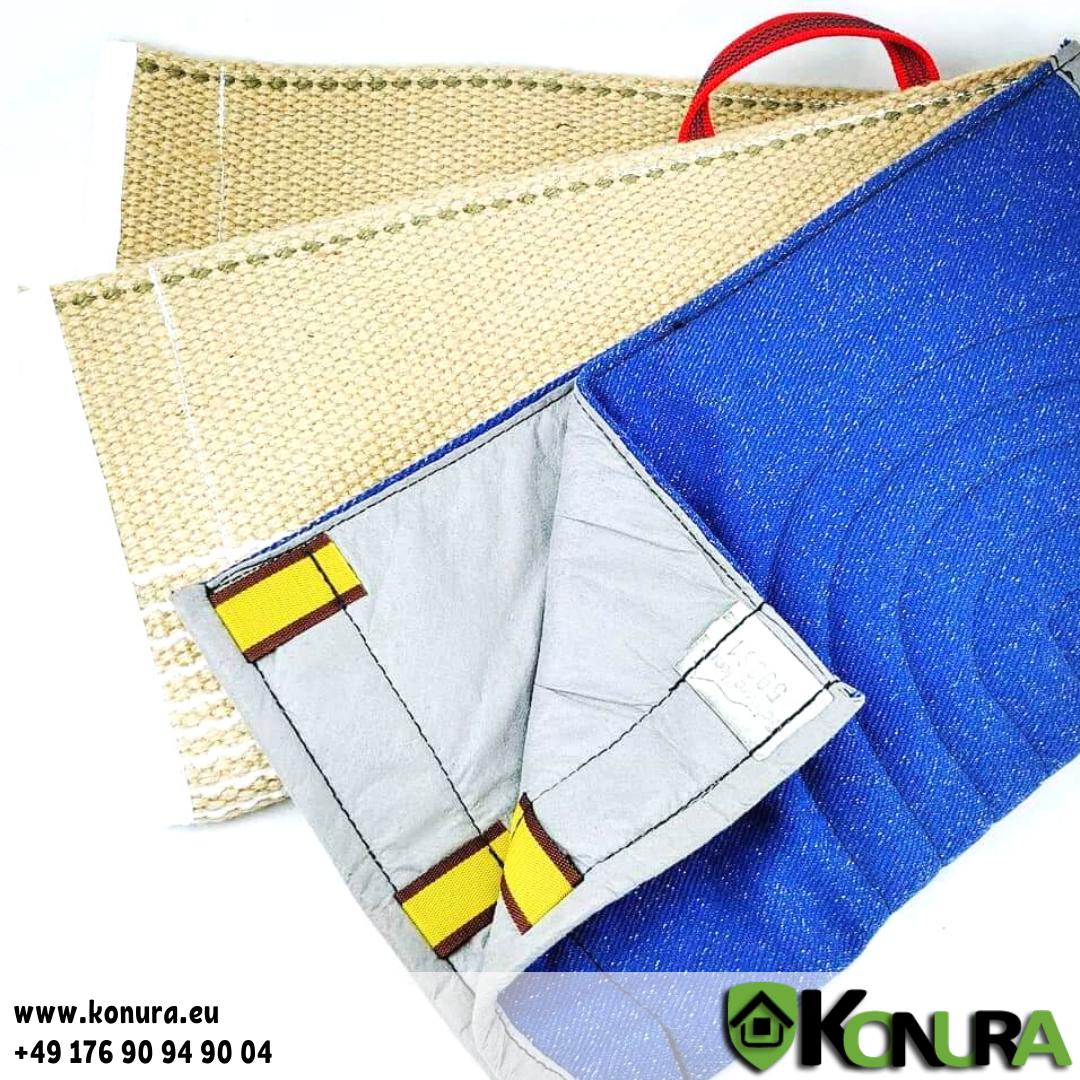 Überzüge für Schutzarm (Jute, Baumwoll-Synthetik, Leder) Schweikert