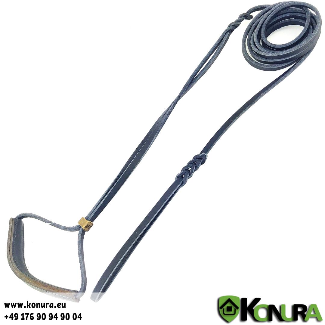 Leder Schauleine mit Halsband ABC Sport Klin