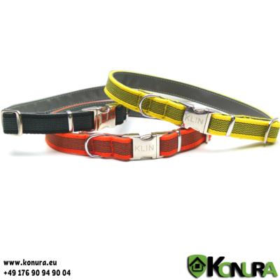 Gummiertes Halsband mit Schnellverschluß Klin Kassel
