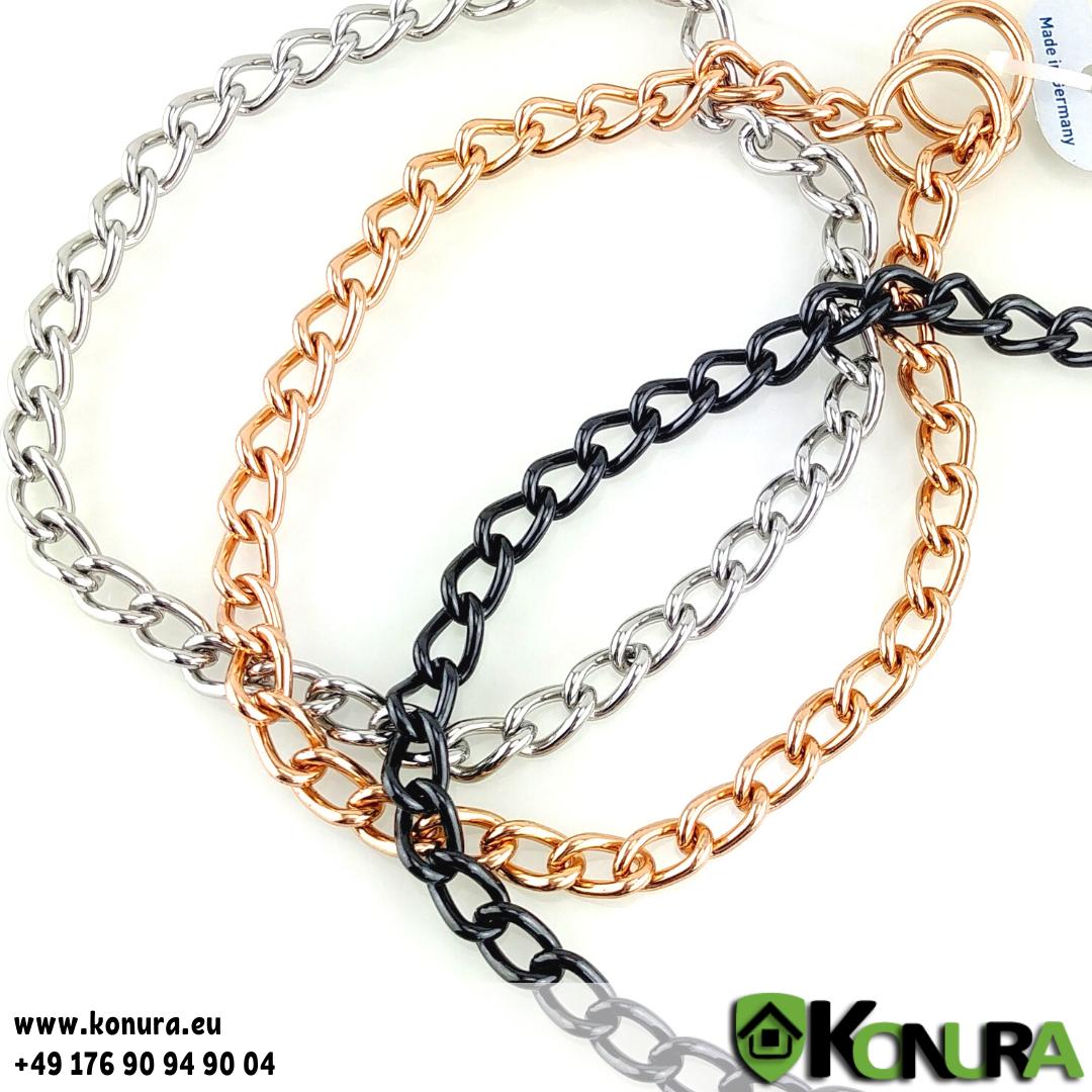 Halskette 3 mm mit einer Gliederlänge von 1,8 cm Sprenger