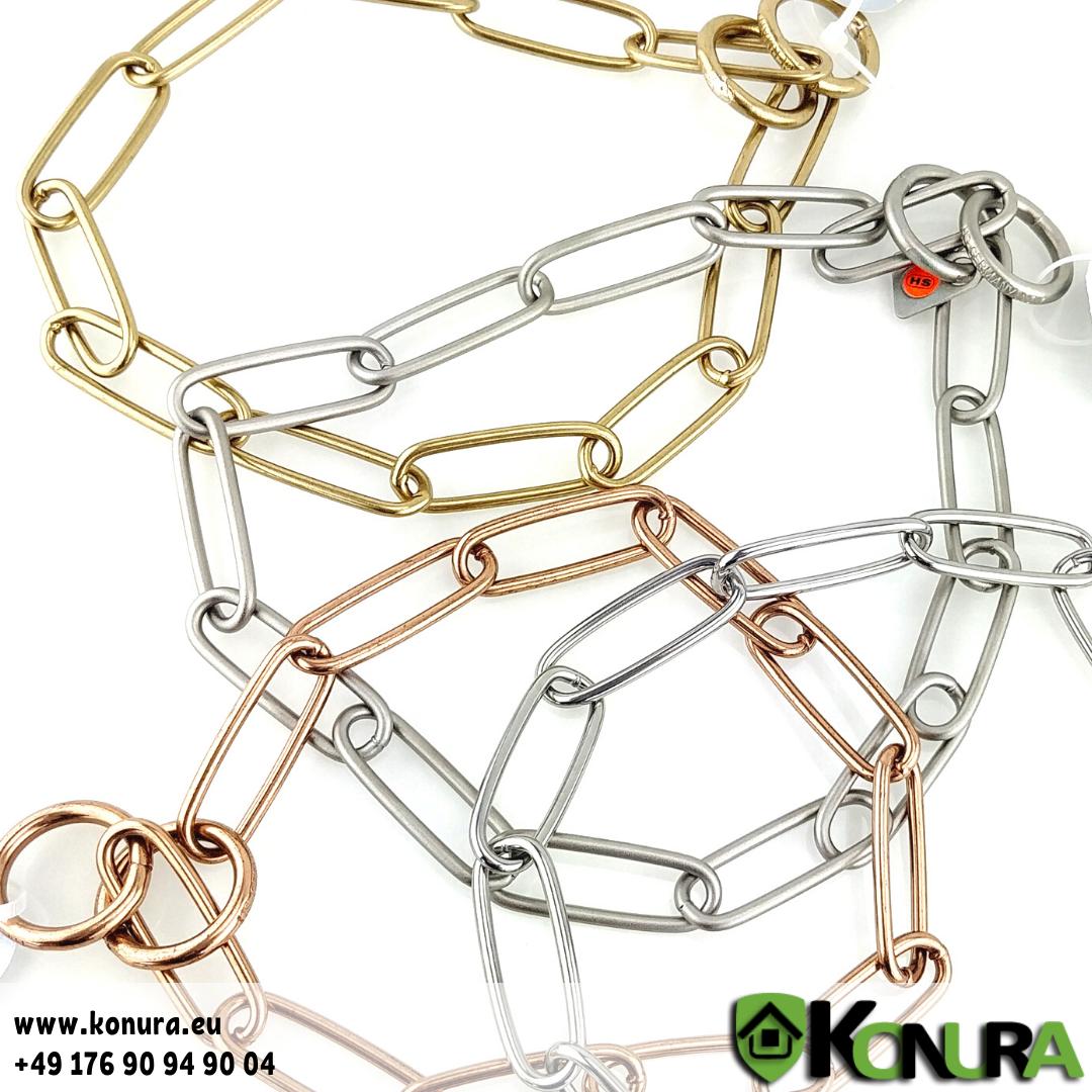 Halskette 3 mm mit einer Gliederlänge von 4 cm Sprenger
