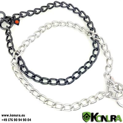 Halskette 4 mm mit einer Gliederlänge von 2,5 cm Sprenger