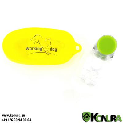 Buttonclicker mit WorkingDog-Logo Dogsline