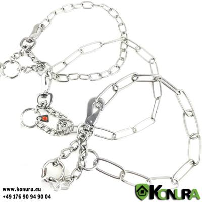 Halskette verstellbare mit Zugbegrenzung und Karabinerhaken Sprenger